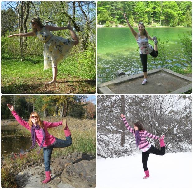 dancer pose seasons