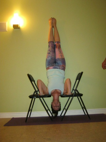Practicing inversions.