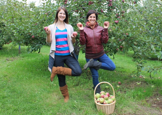 We're apple trees. Get it?!
