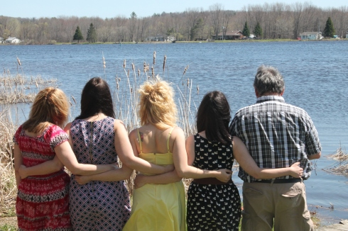 Is it wrong that the best picture so far is the one where you can't see our faces?
